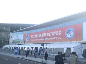 """第二届进口博览会–""""万国来朝"""""""